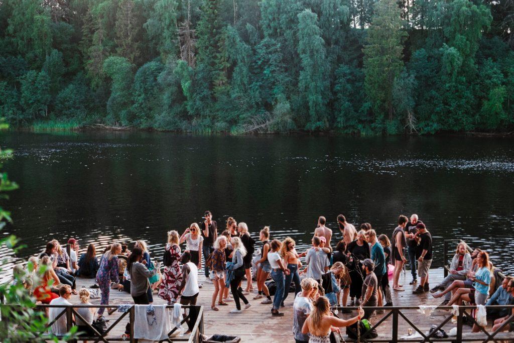 outdoor social life