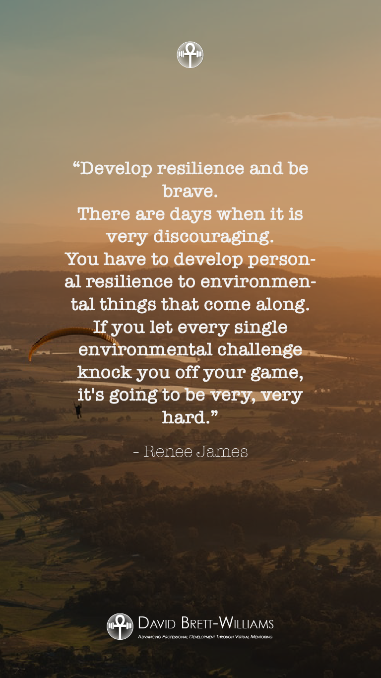Renee James resilience quotes