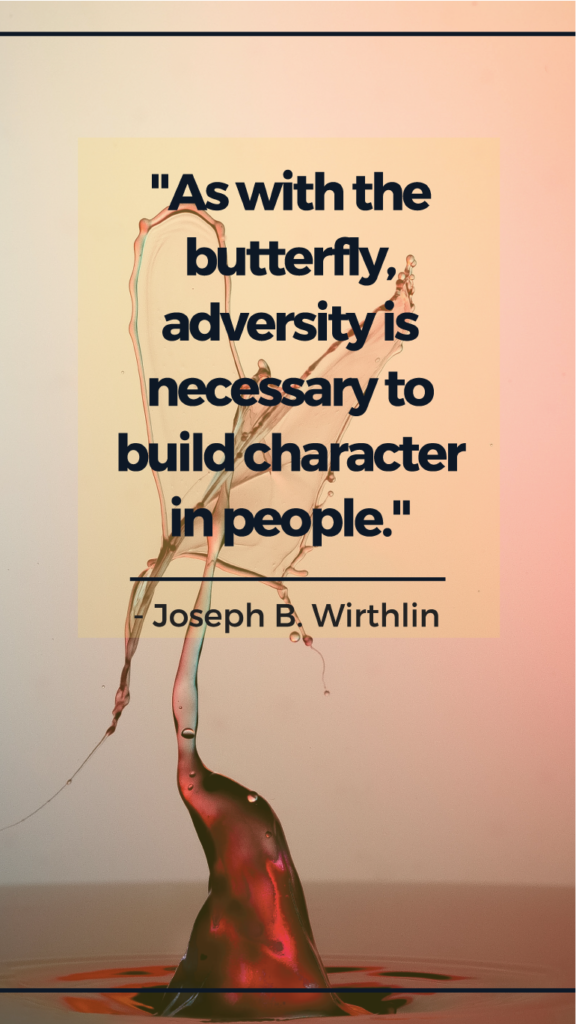 Joseph B. Wirthlin resilience quotes