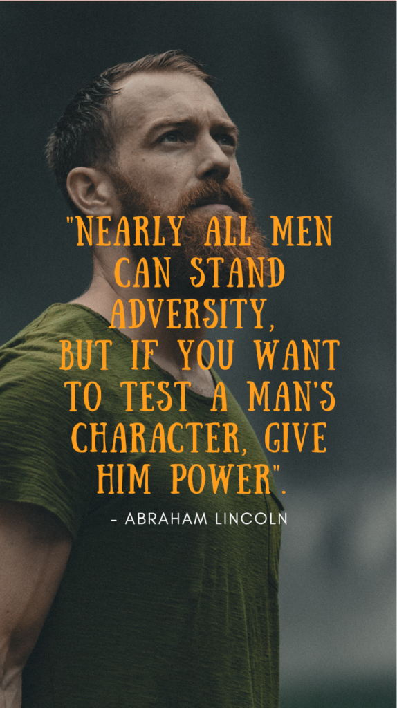 Abraham Lincoln resilience quote image
