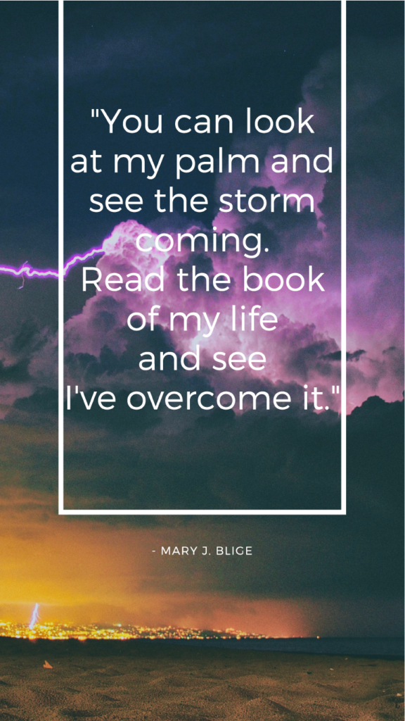 Mary J. Blice resilience quotes