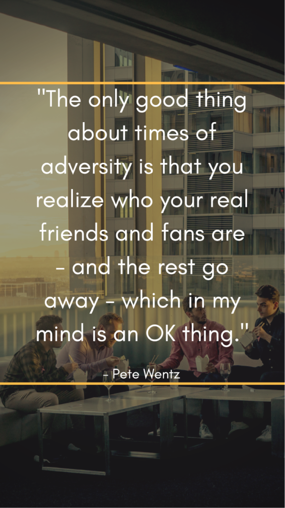 Pete Wentz resilience quotes
