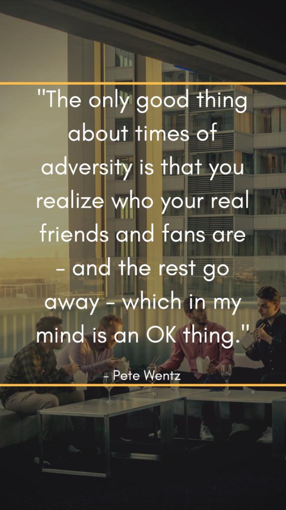 Pete Wentz resilience quotes
