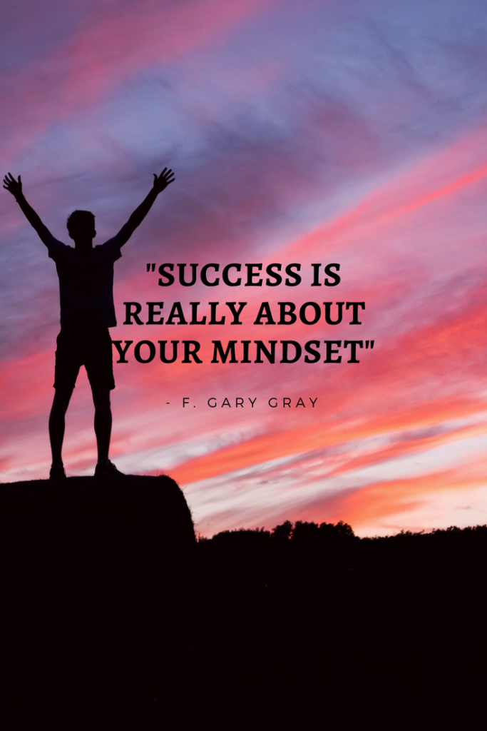 F. Gary Gray Growth Mindset quotes