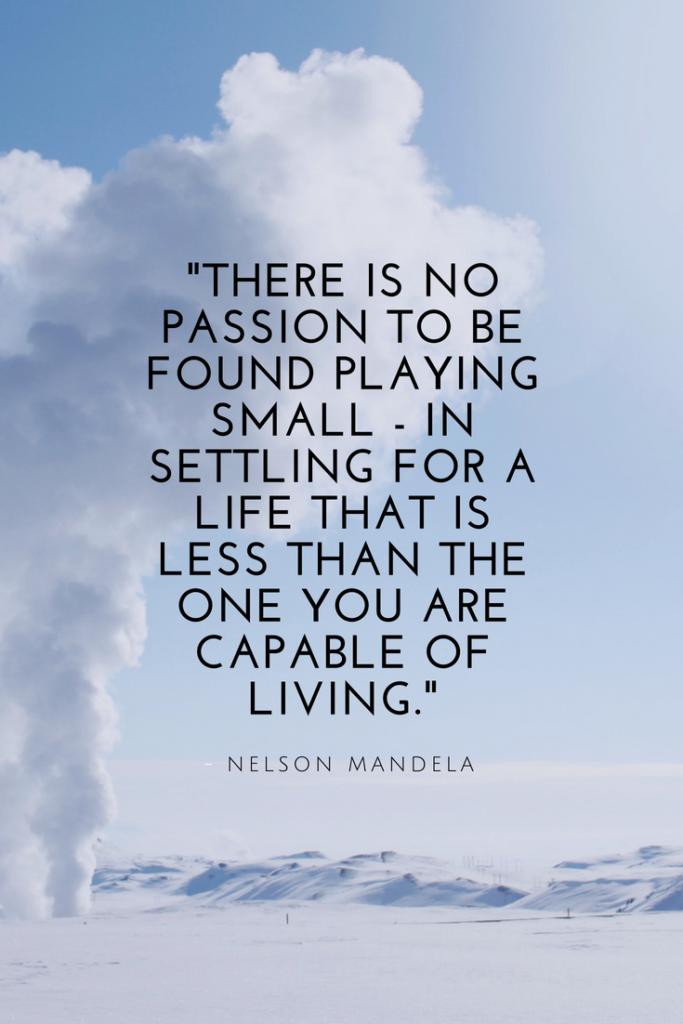 Nelson Mandela Growth Mindset quotes