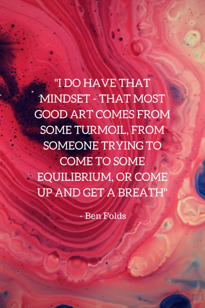 Ben Folds Growth Mindset quotes