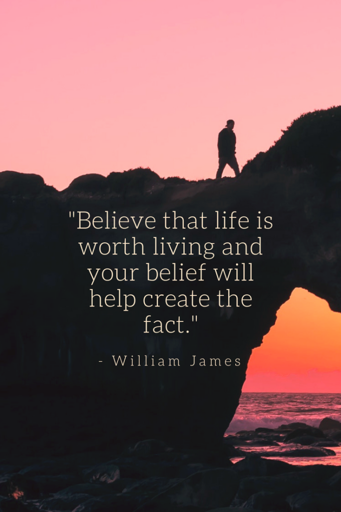 William James Growth Mindset quotes