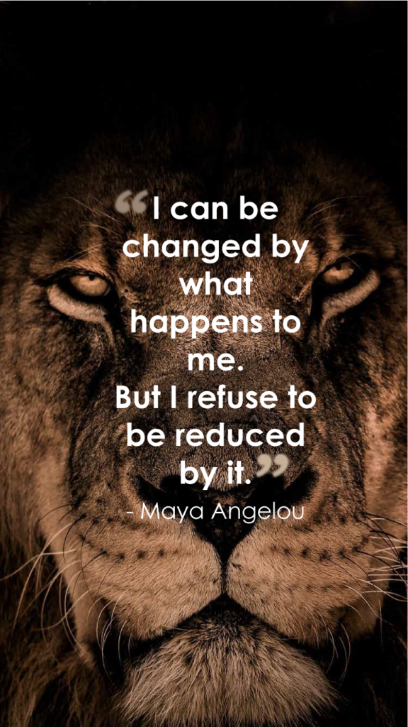 Maya Angelou resilience quotes