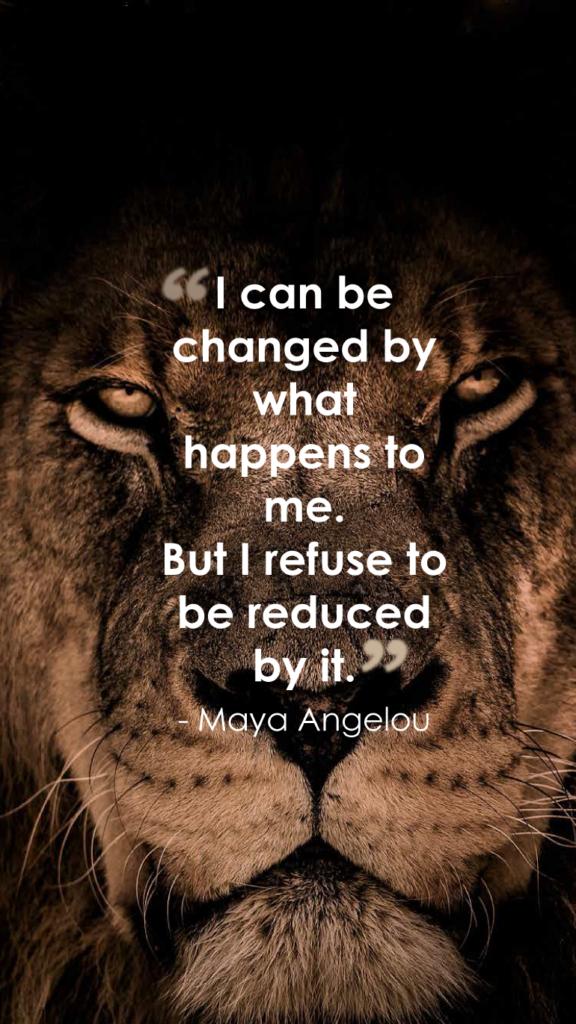 Maya Angelouresilience quotes