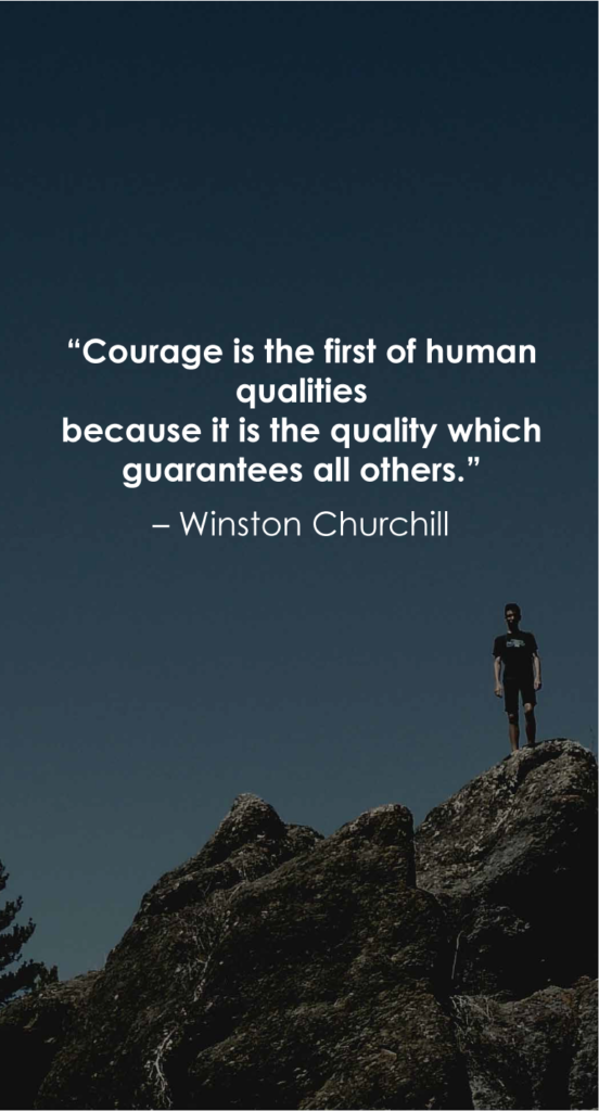 Winston Churchill  resilience quotes '