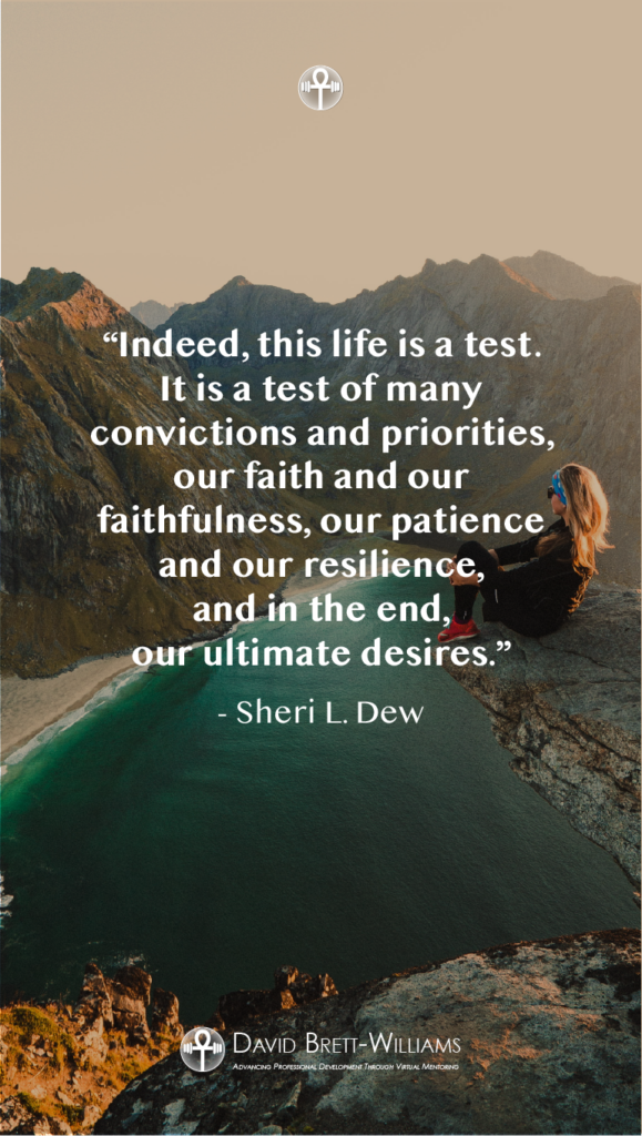 Sheri L. Dew resilience quotes