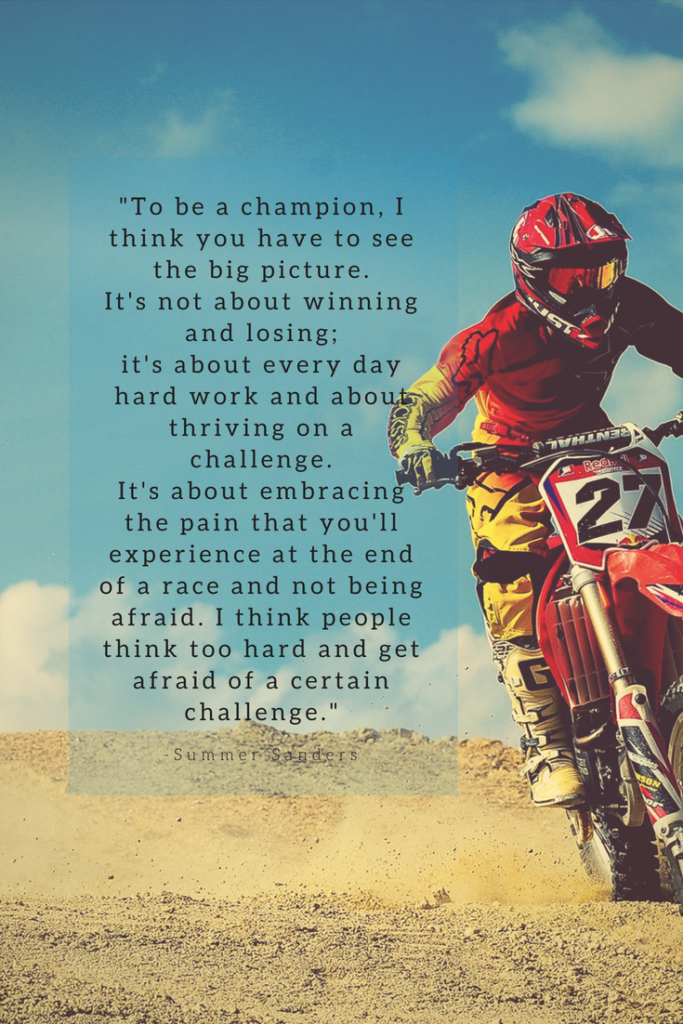 Summer Sanders Growth Mindset quotes