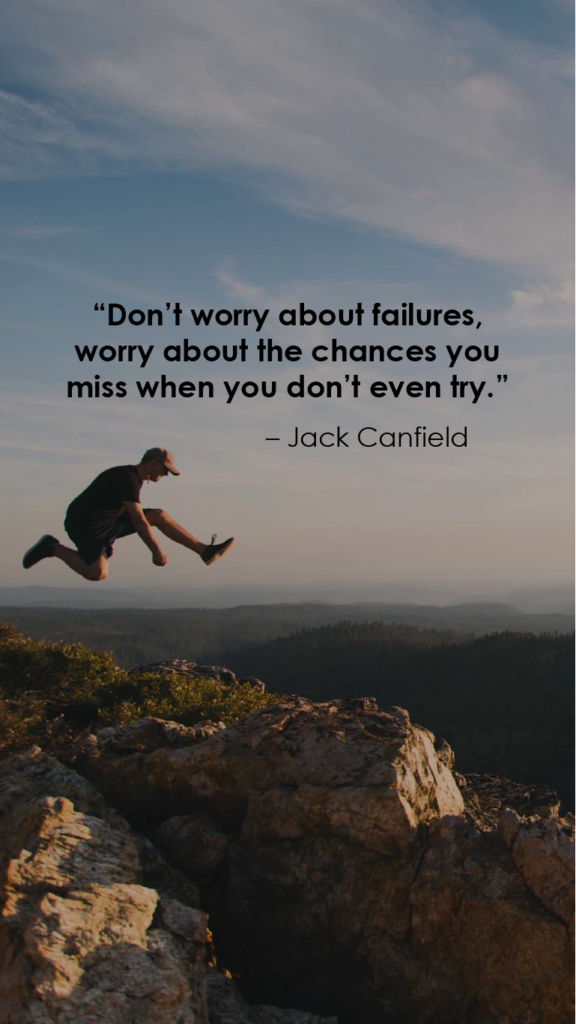 Jack Canfield resilience quotes