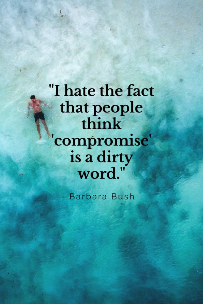 Barbara Bush Growth mindset quotes