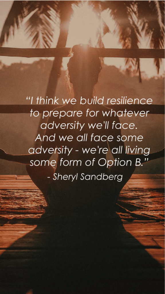 Sheryl Sandbergresilience quote
