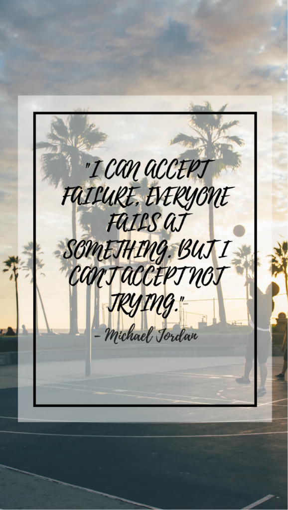 Michael Jordan  resilience quotes
