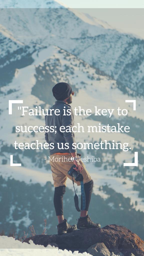Morihei Ueshiba resilience quotes