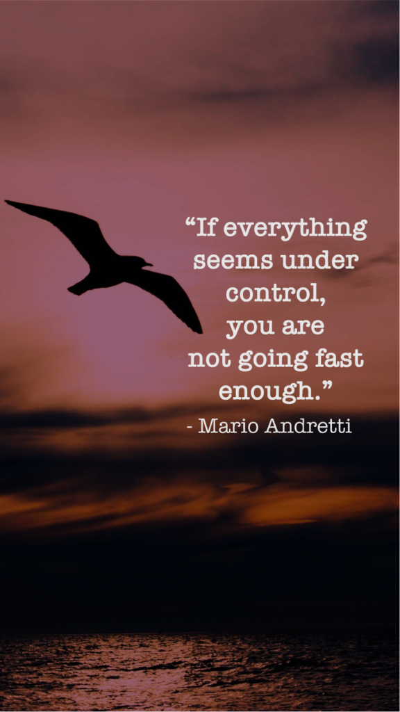 Mario Andretti  resilience quotes