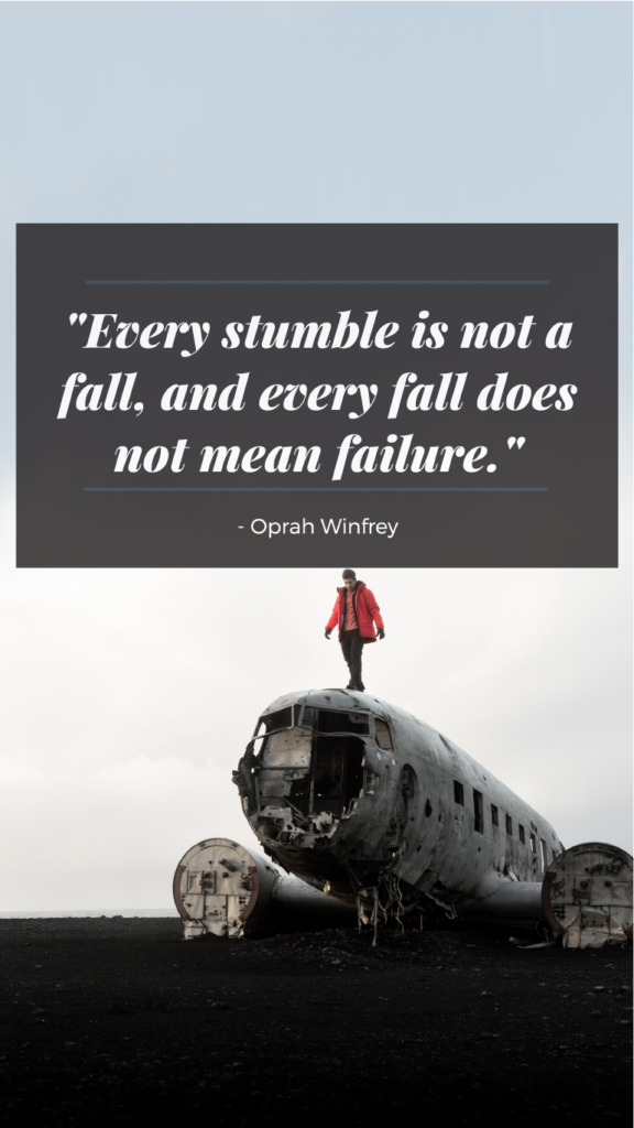 Oprah Winfrey resilience quotes