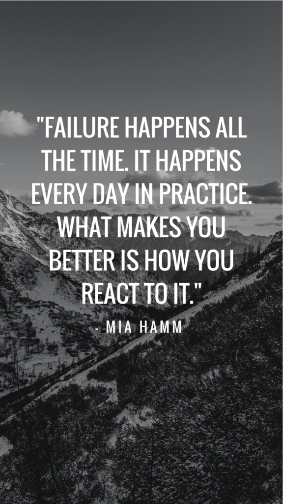 Mia Hamm resilience quotes