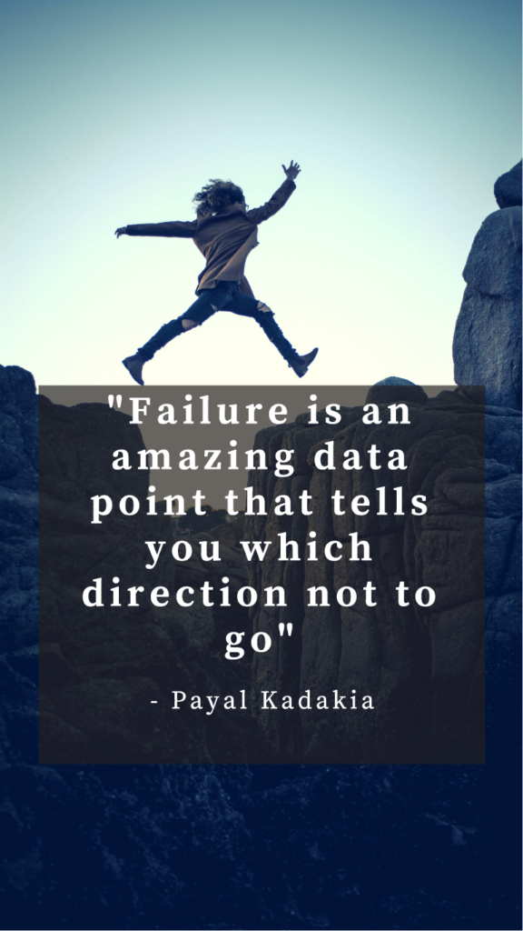 Payal Kadakia resilience quotes