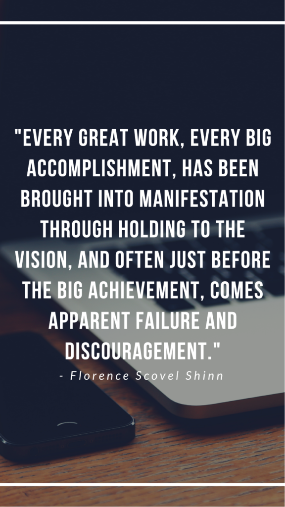 Florence Scovel Shinn resilience quotes