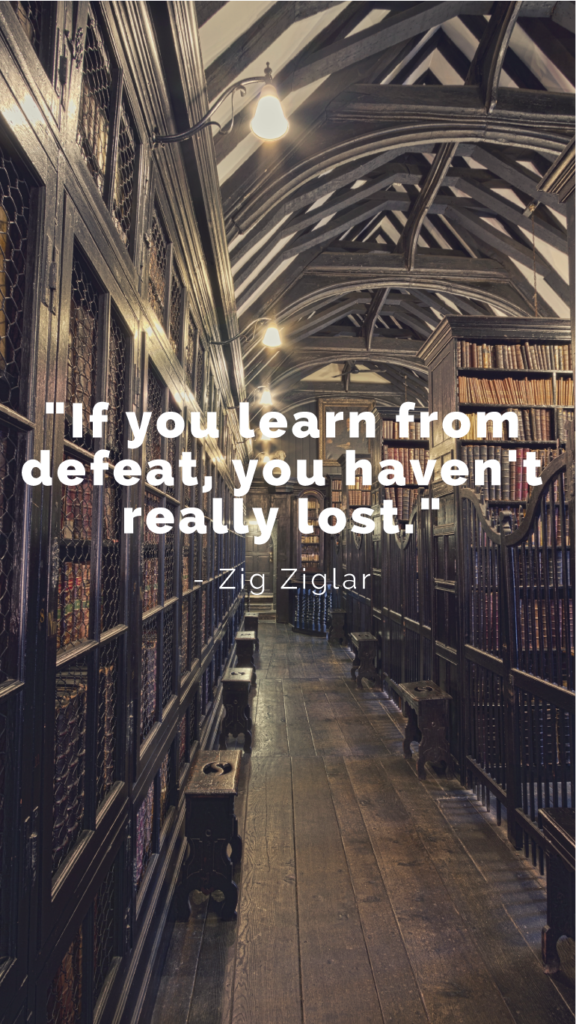 Zig Zaglar resilience quotes image