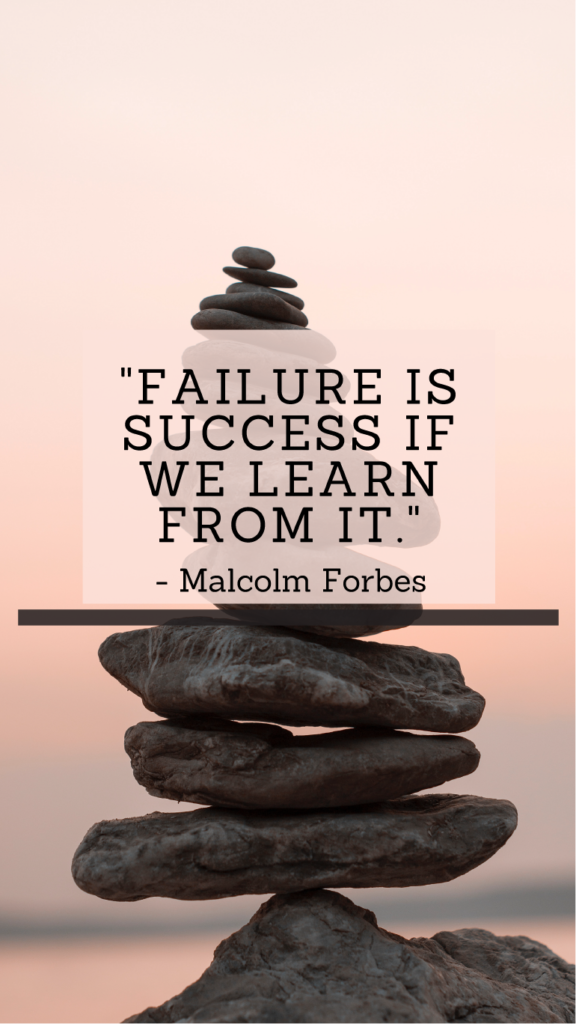 Malcolm Forbes resilience quotes
