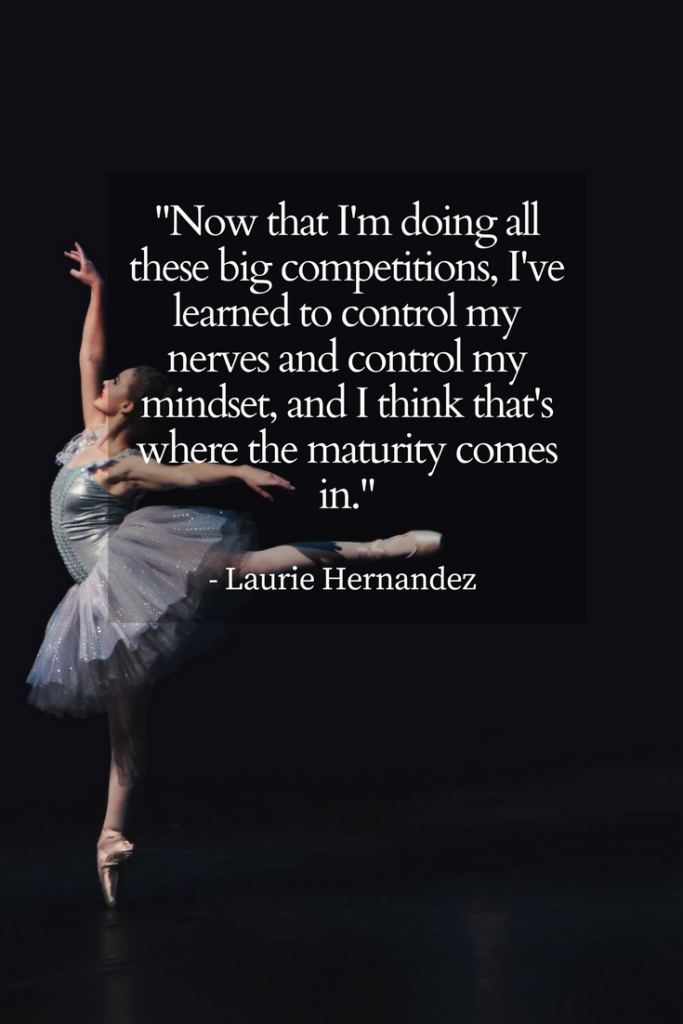 Laurie Hernandez Growth mindset quotes Image