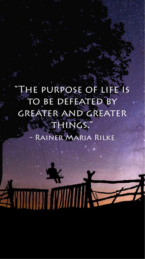Rainer Maria Rilke resilience quotes