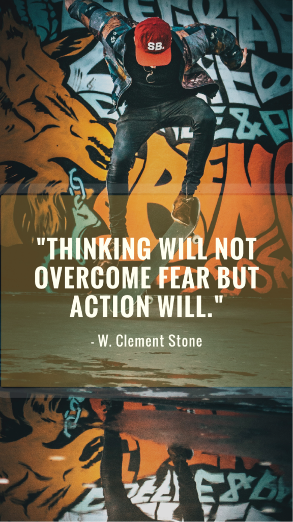 W. Clement Stone resilience quote image