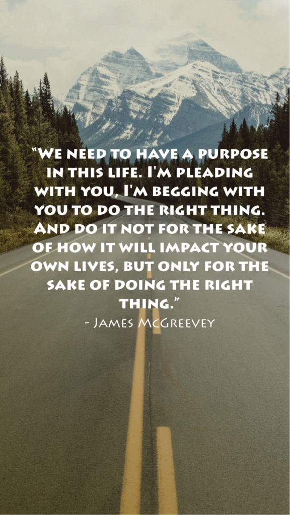 James McGreevey resilience quotes
