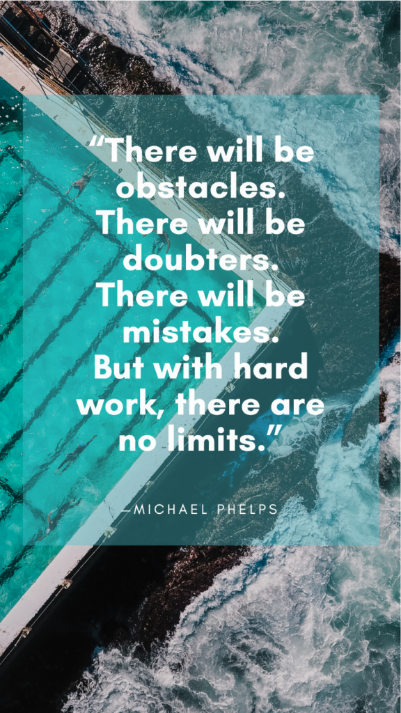 Michael Phelps resilience quotes