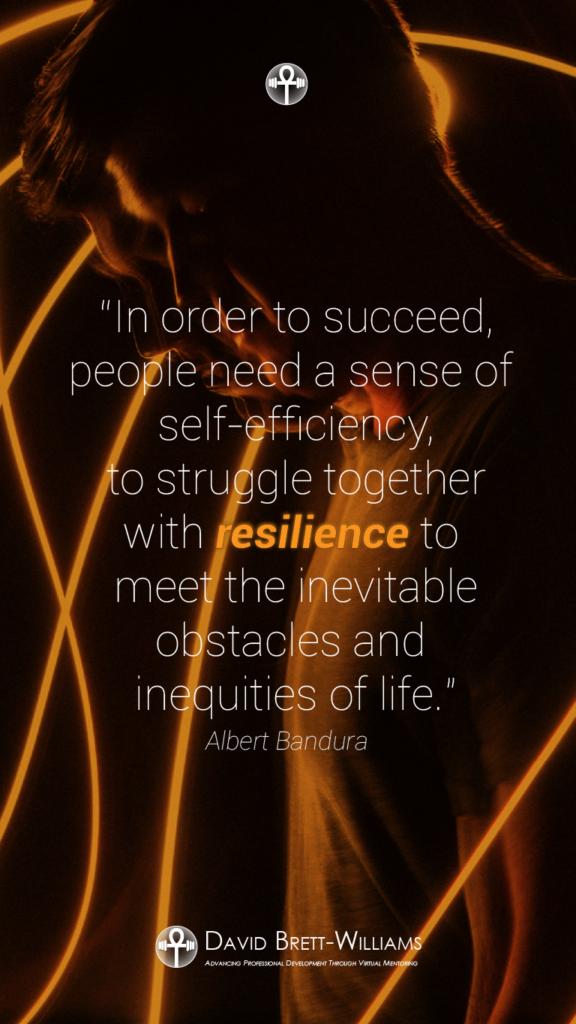Albert Bandura resilience quotes
