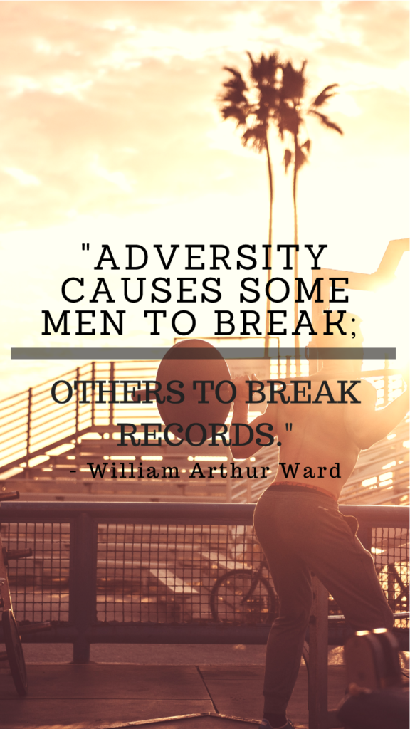 Williams Arthur Ward resilience quotes