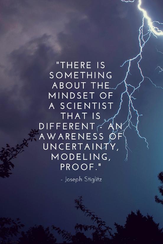 Joseph Stiglitz growth mindset quotes