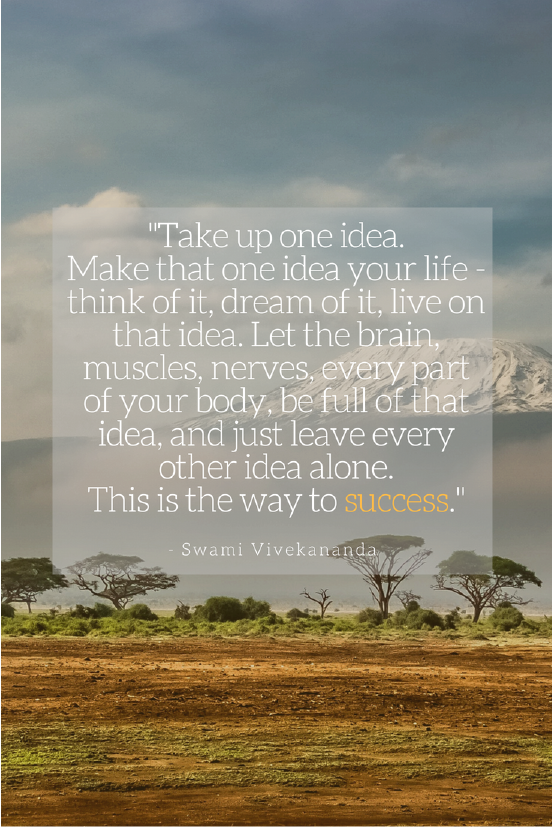 Swami Vivekananda Growth mindset quotes Image