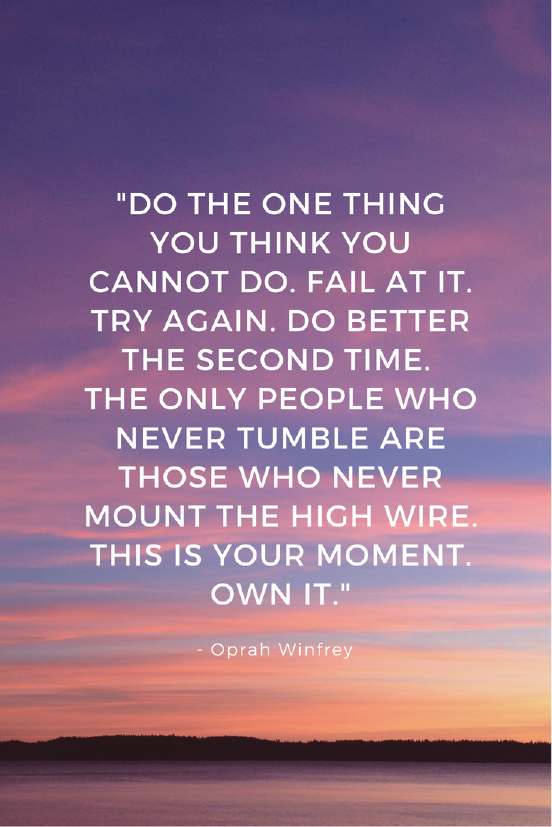 Oprah Winfrey  Growth Mindset quote