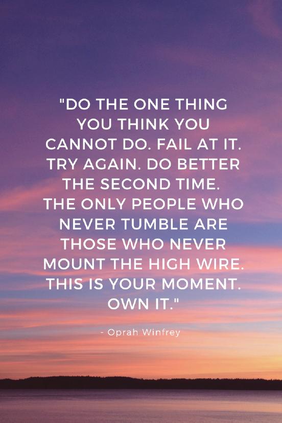 Oprah Winfrey Growth Mindset quote