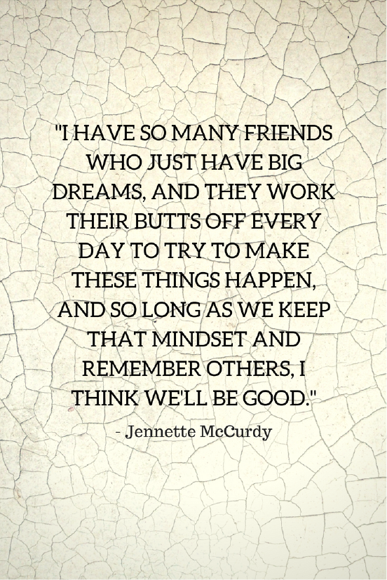 Jennette McCurdy Growth Mindset quotes