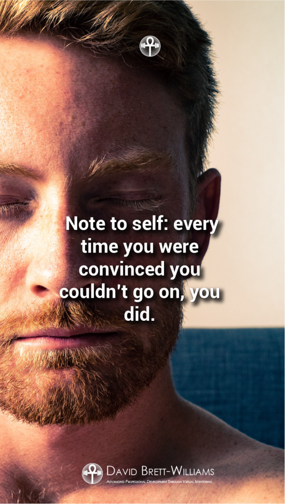 Note to self Resilience Quotes
