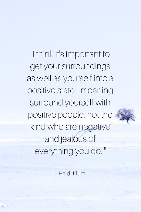 Heidi Klum Growth Mindset quotes