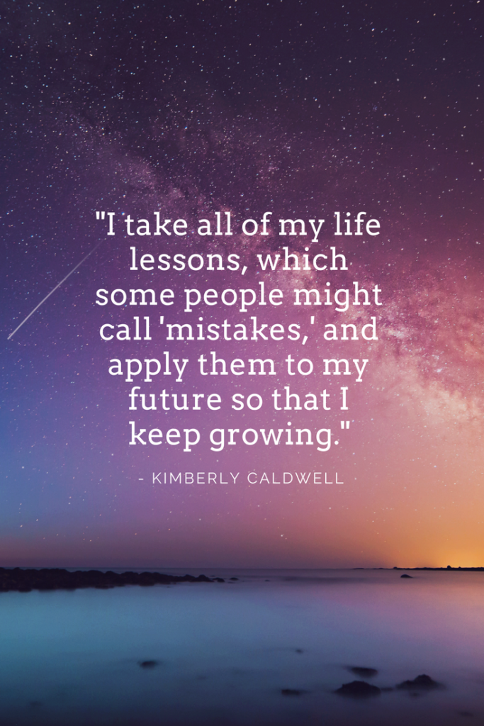 Kimberly Caldwell inspirational quotes