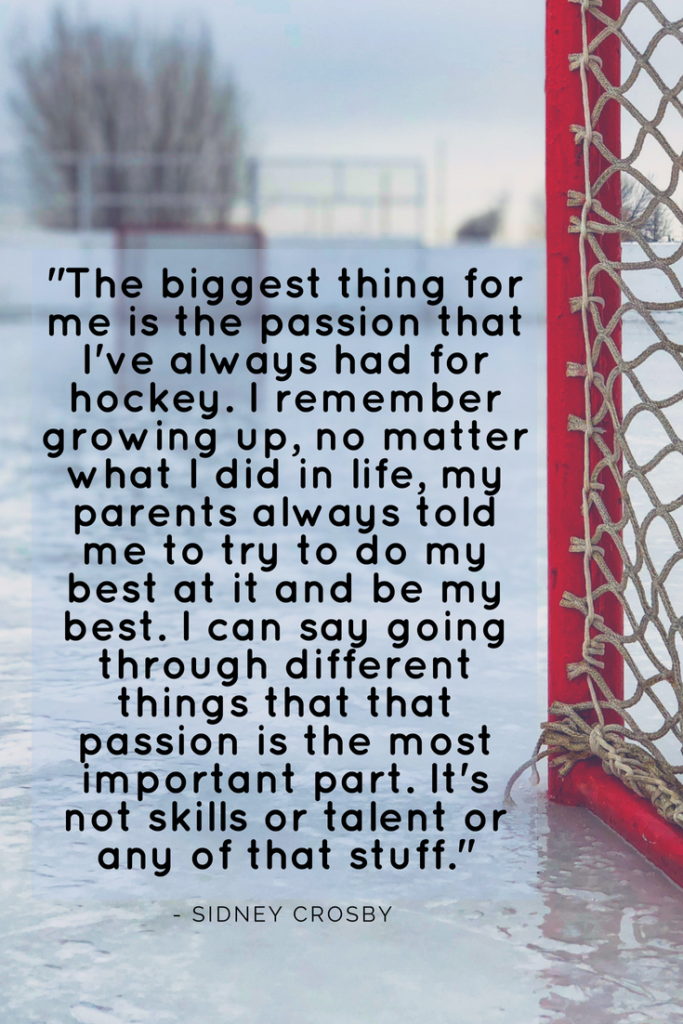 Sidney Crosby inspirational quotes
