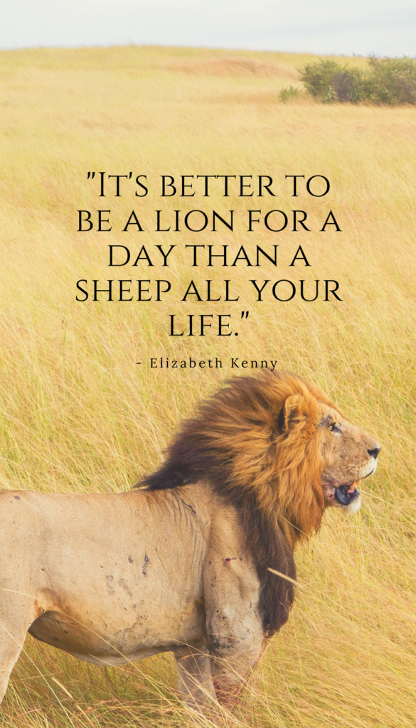 Elizabeth Kenny positive life quotes
