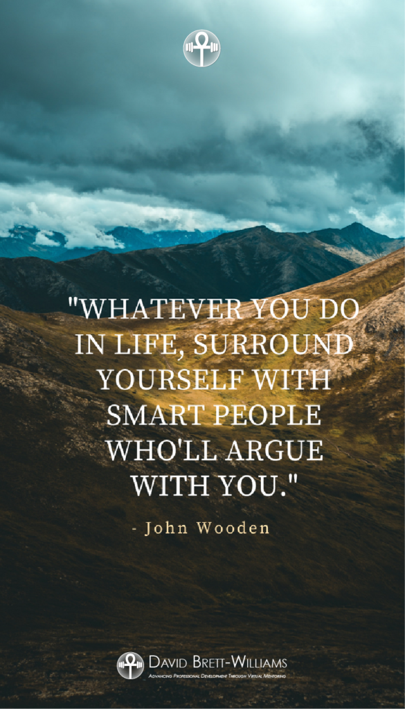John Wooden Positive life quotes