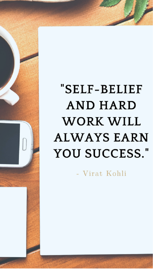 Virat Kohli positive life quotes