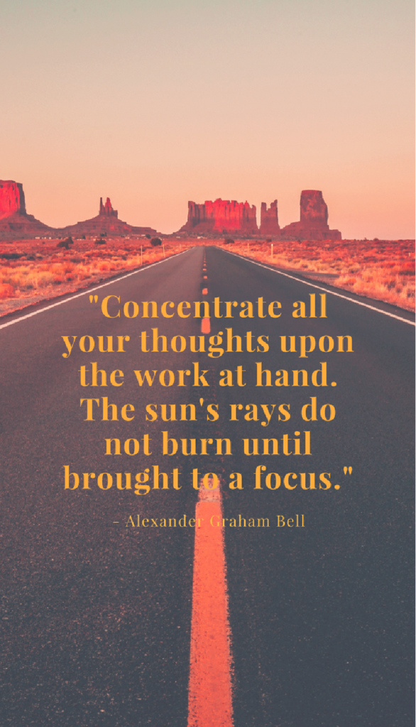 Alexander Graham Bell positive life quotes