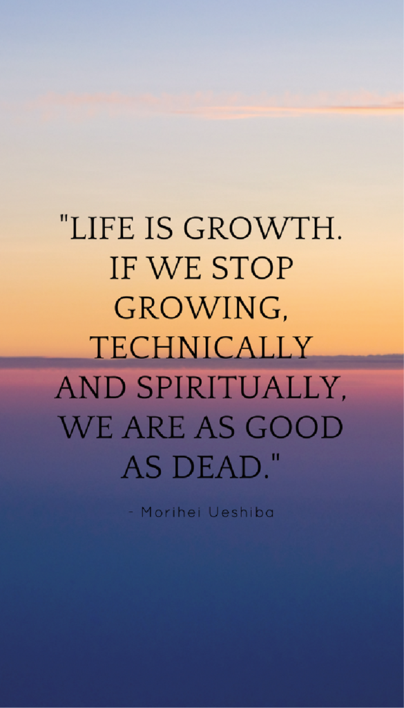 Morihei Ueshibapositive mindset quote