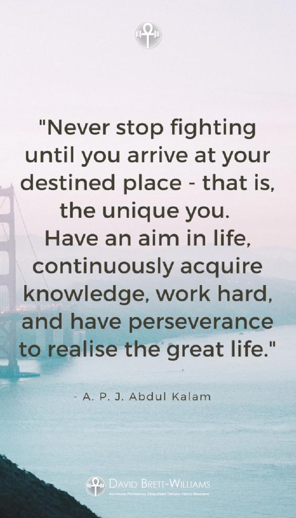 A.P.J. Abdul Kalam positive life quotes